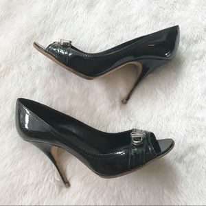 Givenchy patent leather pumps